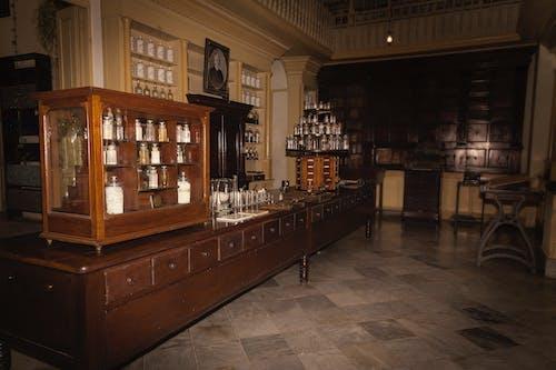 Foto stok gratis apotheke, apothekenschrank, farmasi triolet, Kuba