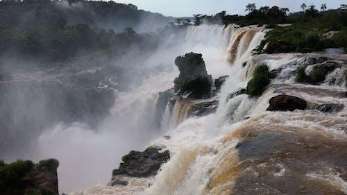 çağlayanlar, doğa, kayalar, manzara içeren Ücretsiz stok fotoğraf