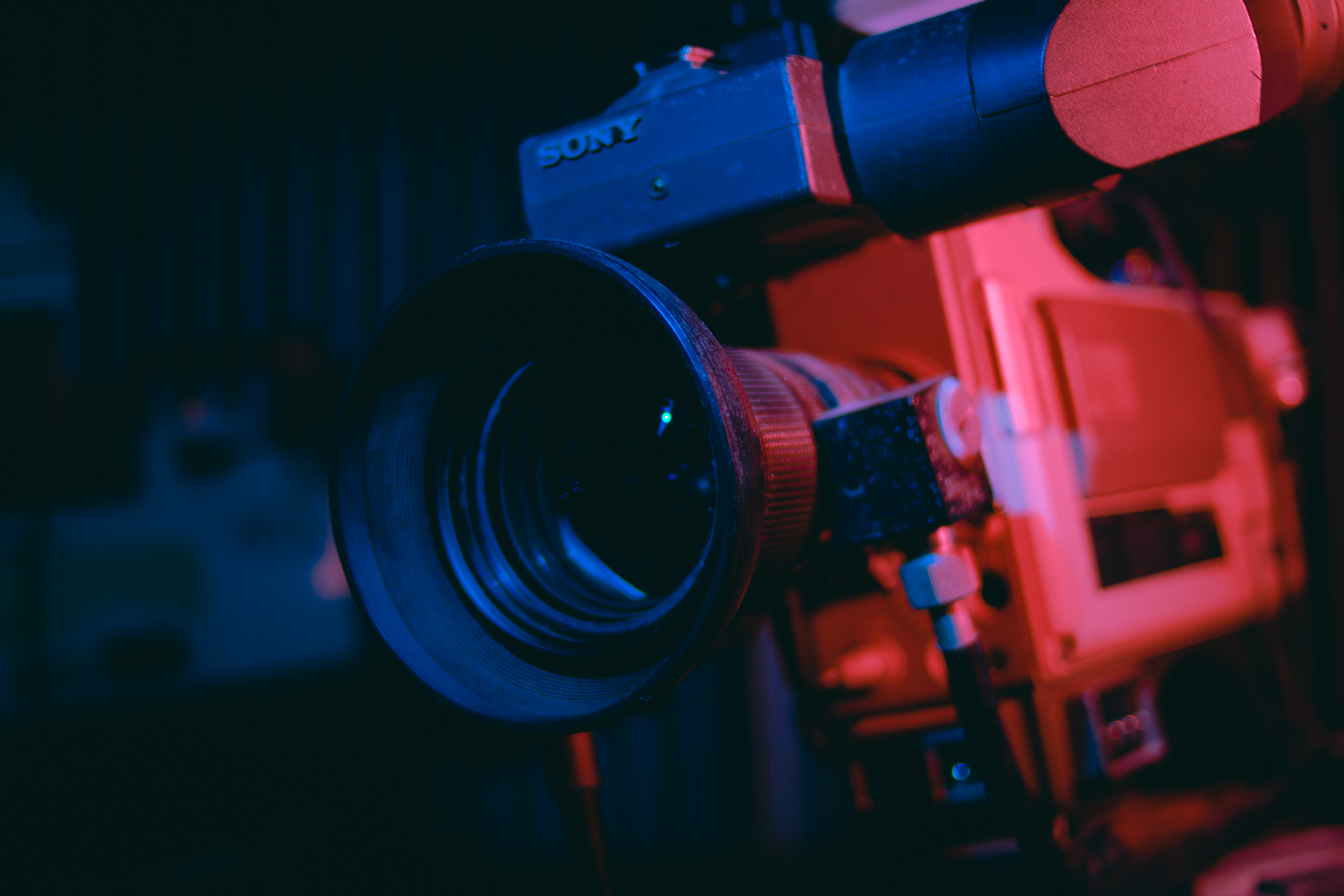 Close-up Photography of Video Camera