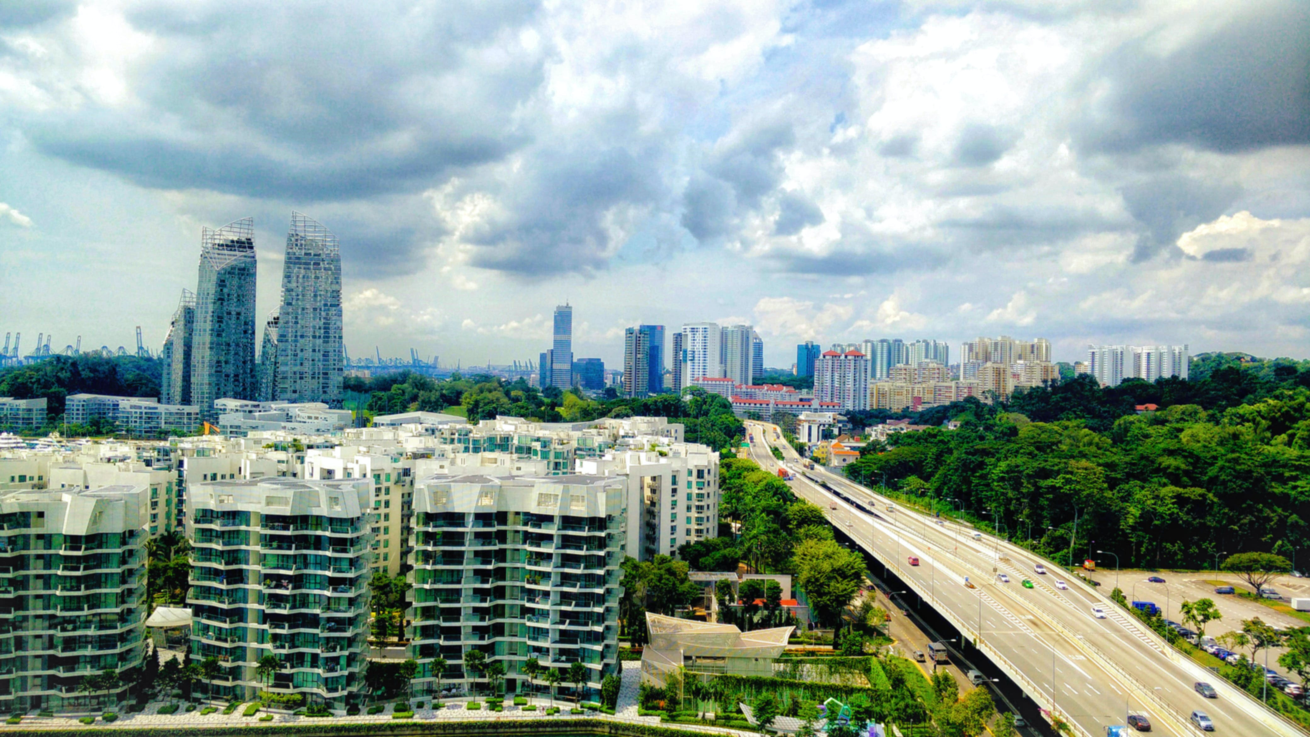Free stock photo of beautiful, city view, cloud