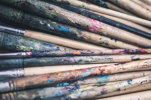 Pile of Paint Brush