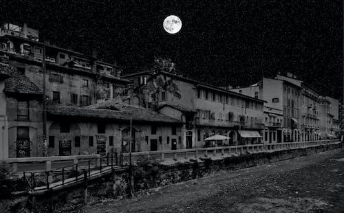 Free stock photo of darkness, night, street