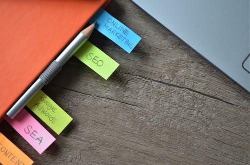 Free stock photo of advertising, diary, digital marketing, google adwords
