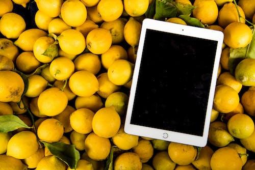 Kostnadsfri bild av citroner, färsk, hälsosam, ipad