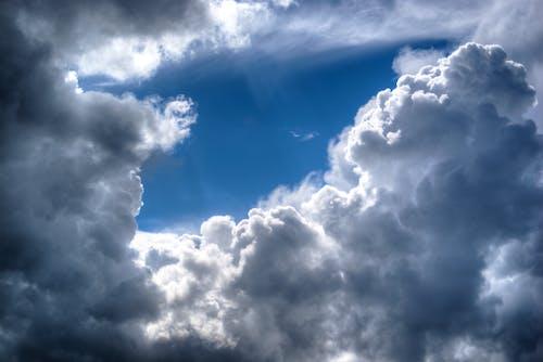 구름, 블루, 태양, 하늘의 무료 스톡 사진