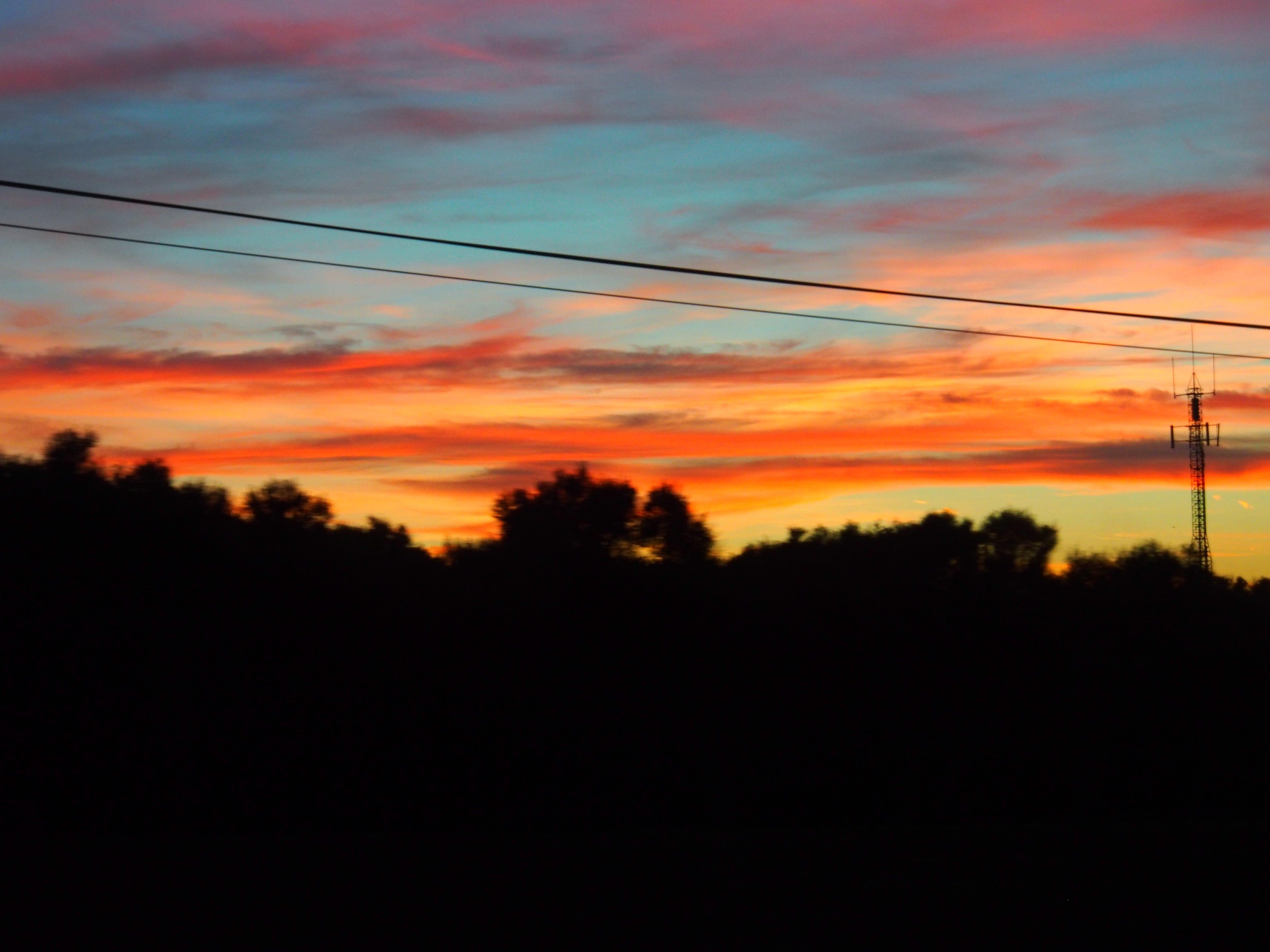 Gratis lagerfoto af aftensol, farve, solnedgang