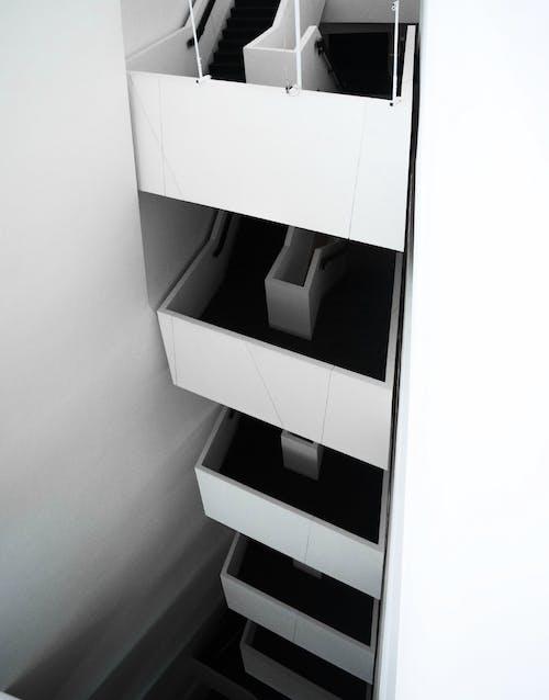 Бесплатное стоковое фото с архитектура, дизайн, дизайн интерьера, лестница