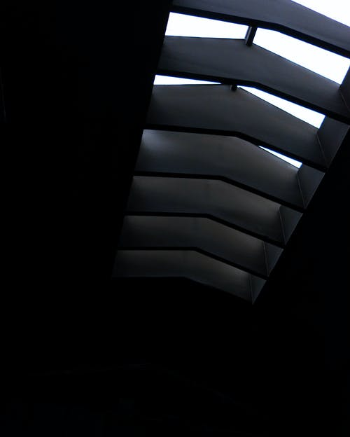 Základová fotografie zdarma na téma architektura, barvy, černobílá, design