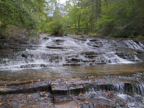 流れる水, 滝の無料の写真素材
