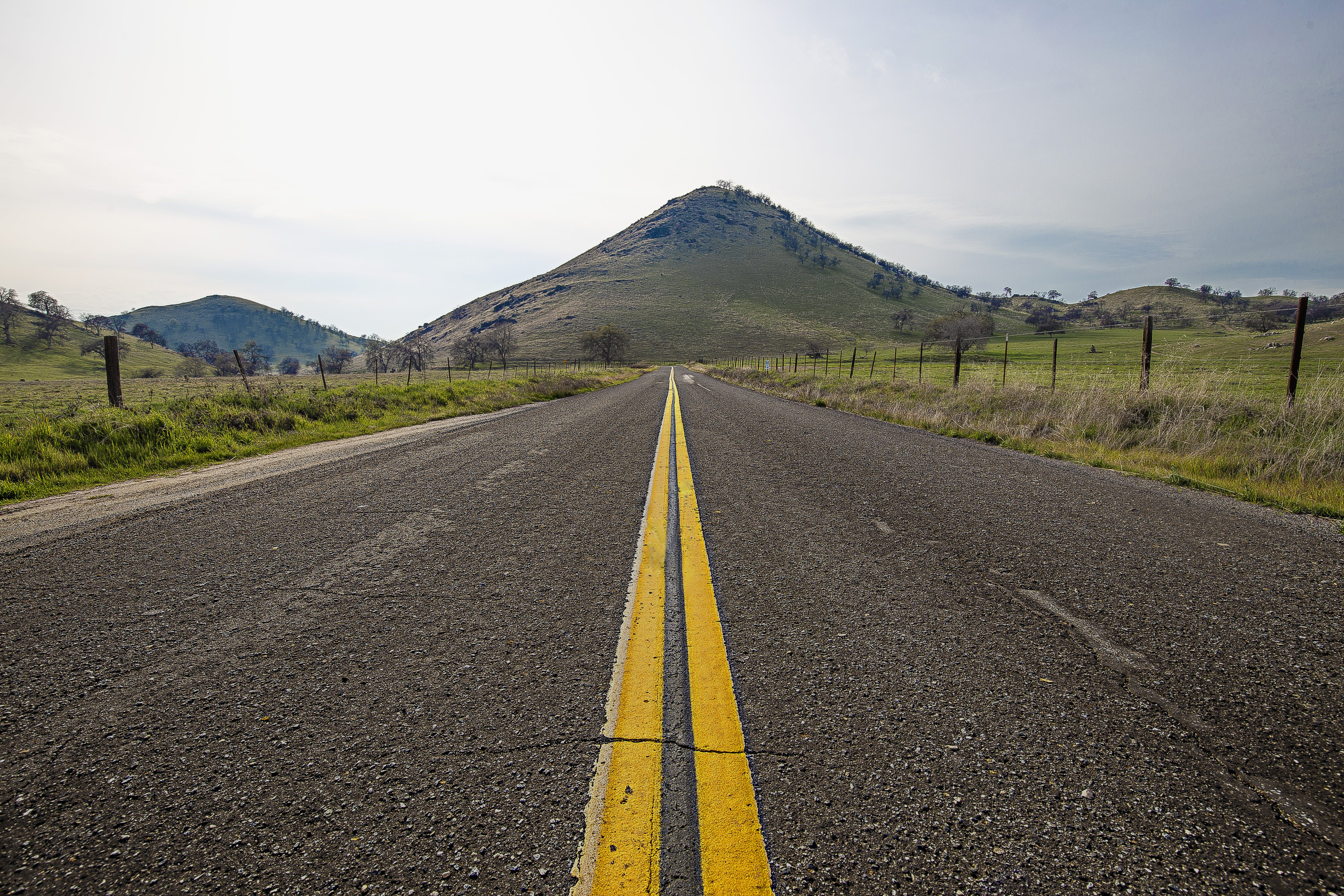 Free stock photo of mountains, road, road marking