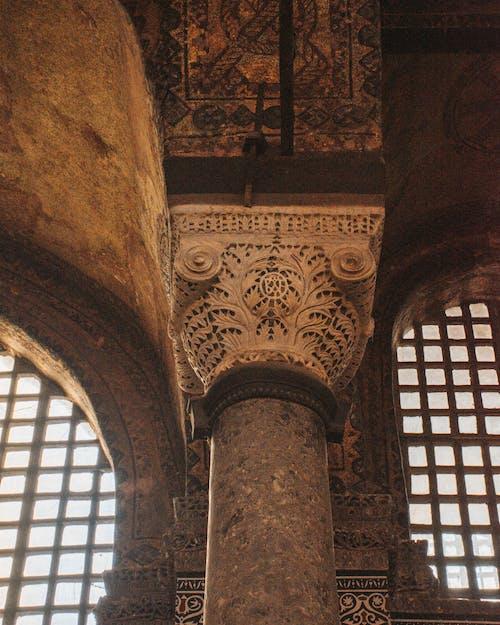 Design of an Ancient Building Pillars