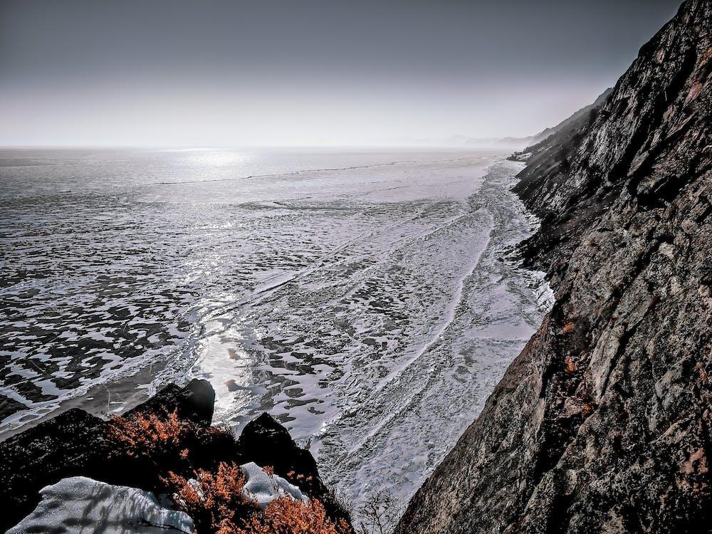 água, beira-mar, cênico