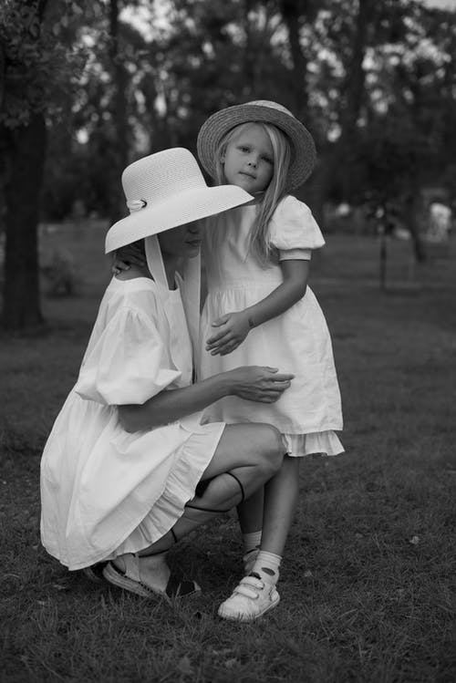 Fotobanka sbezplatnými fotkami na tému byť spolu, čierny abiely, dcéra
