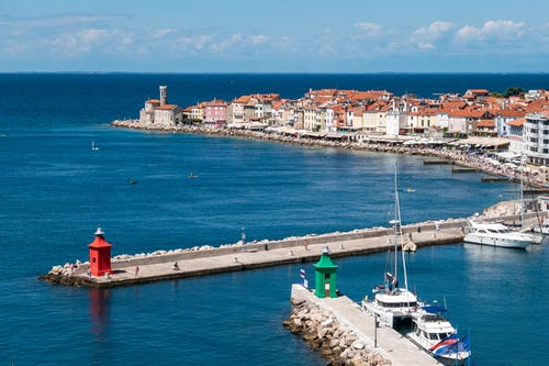 The Sea Harbor in  Slovenia