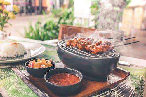 Foto stok gratis alat barbecue, alat bq, alat panggang, Asia