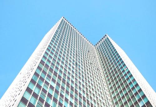 açık hava, bakış açısı, bina, camlar içeren Ücretsiz stok fotoğraf