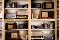 vintage, music, old