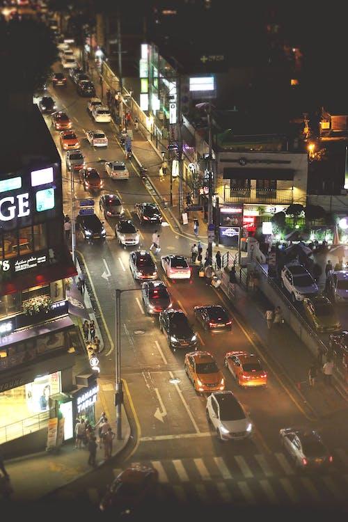 Imagine de stoc gratuită din centrul orașului, Coreea, Coreea de Sud, estompare