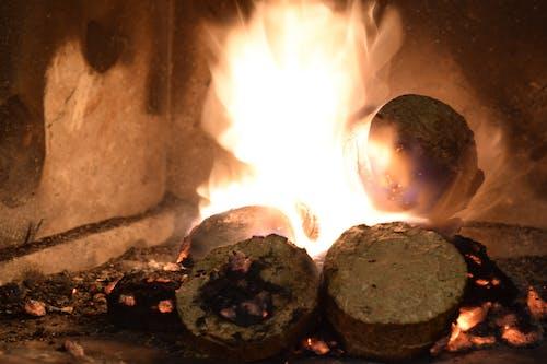 Základová fotografie zdarma na téma krb, oheň, ohniště