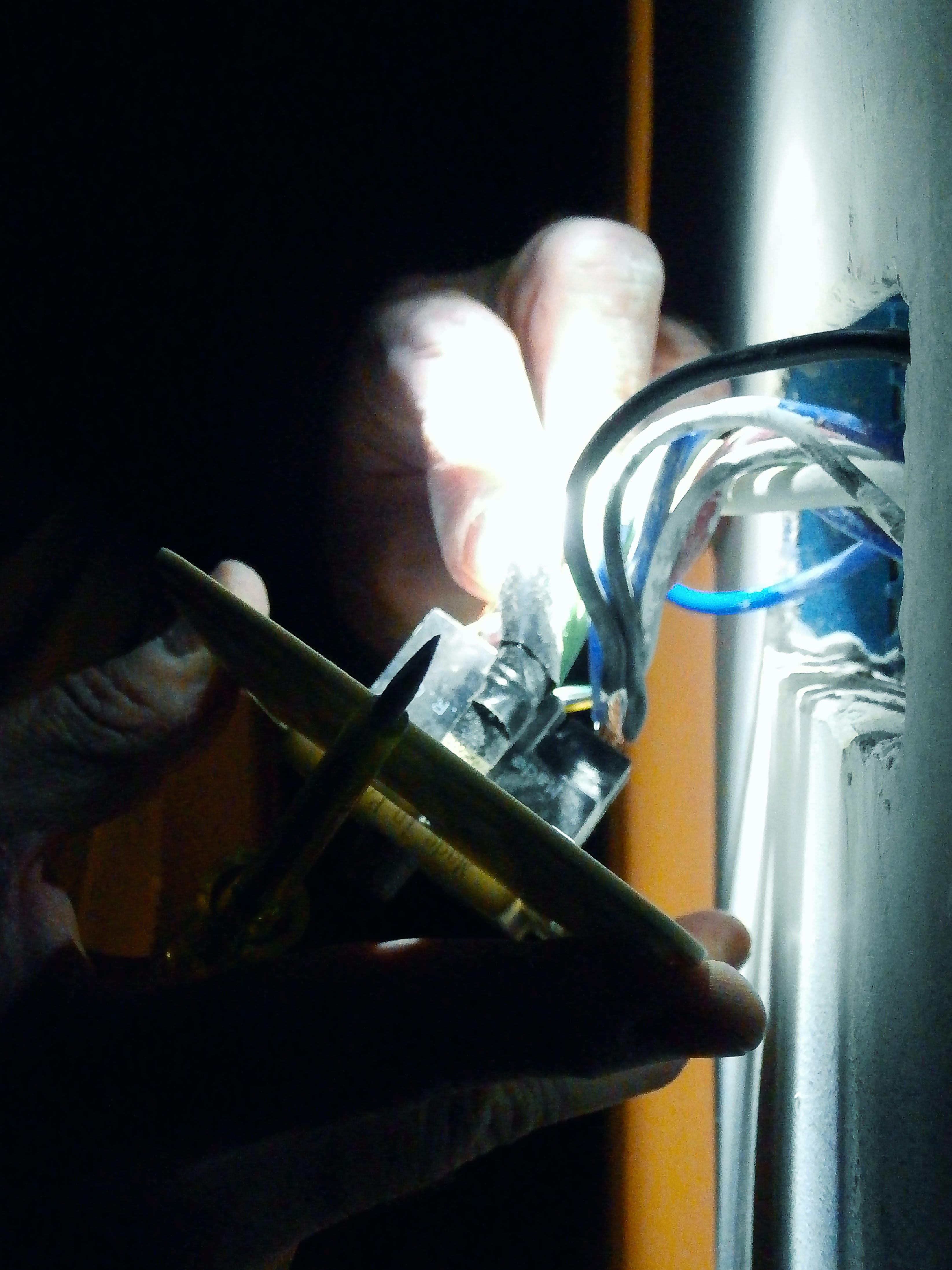 Free stock photo of dark, electrician, electricity, flashlight