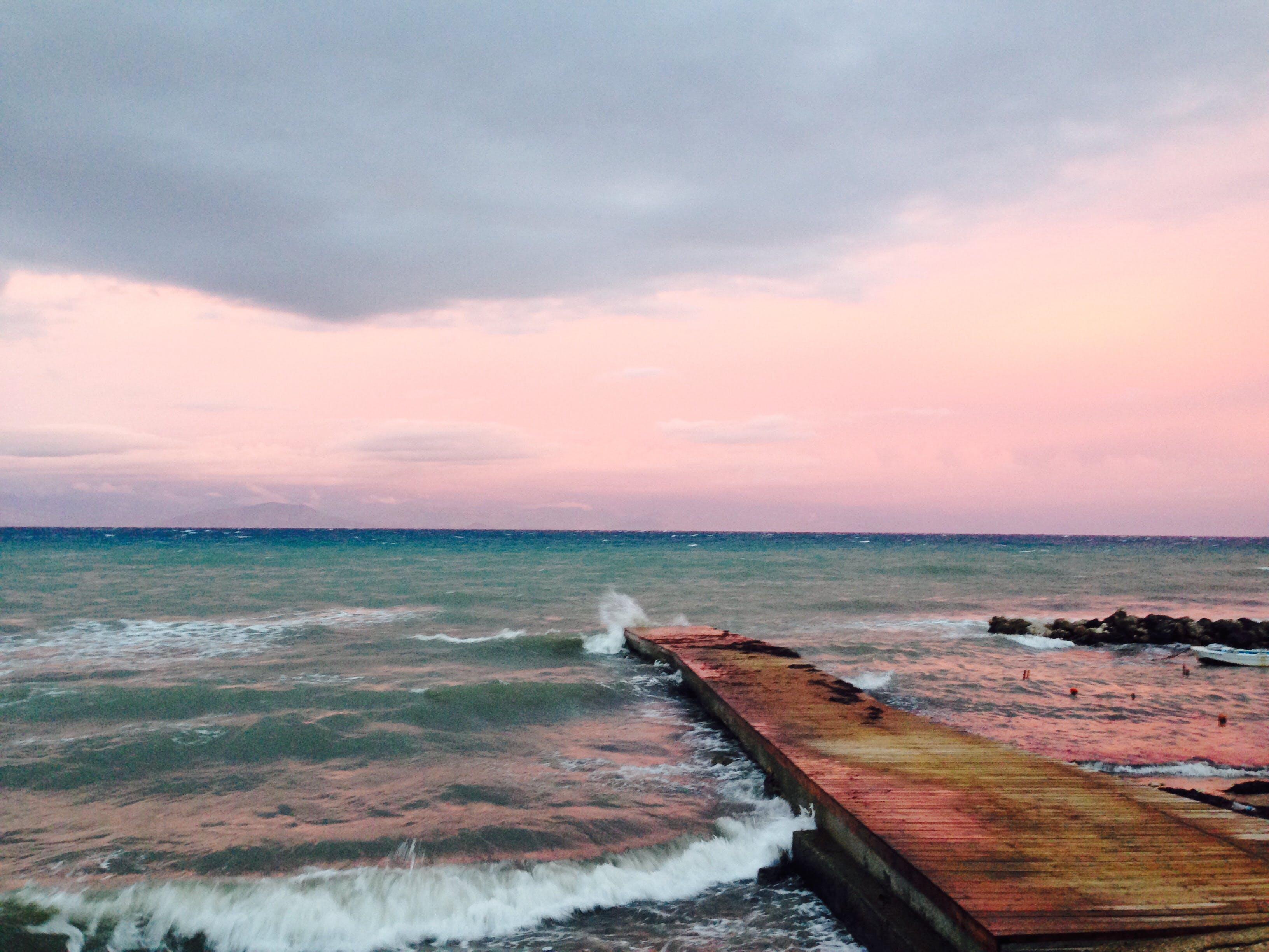 Free stock photo of nature, sky, sunset, beach