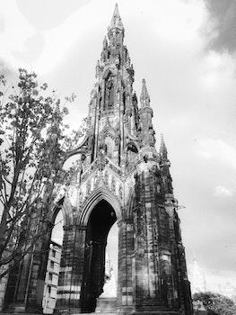 Free stock photo of park, architecture, history, edinburgh