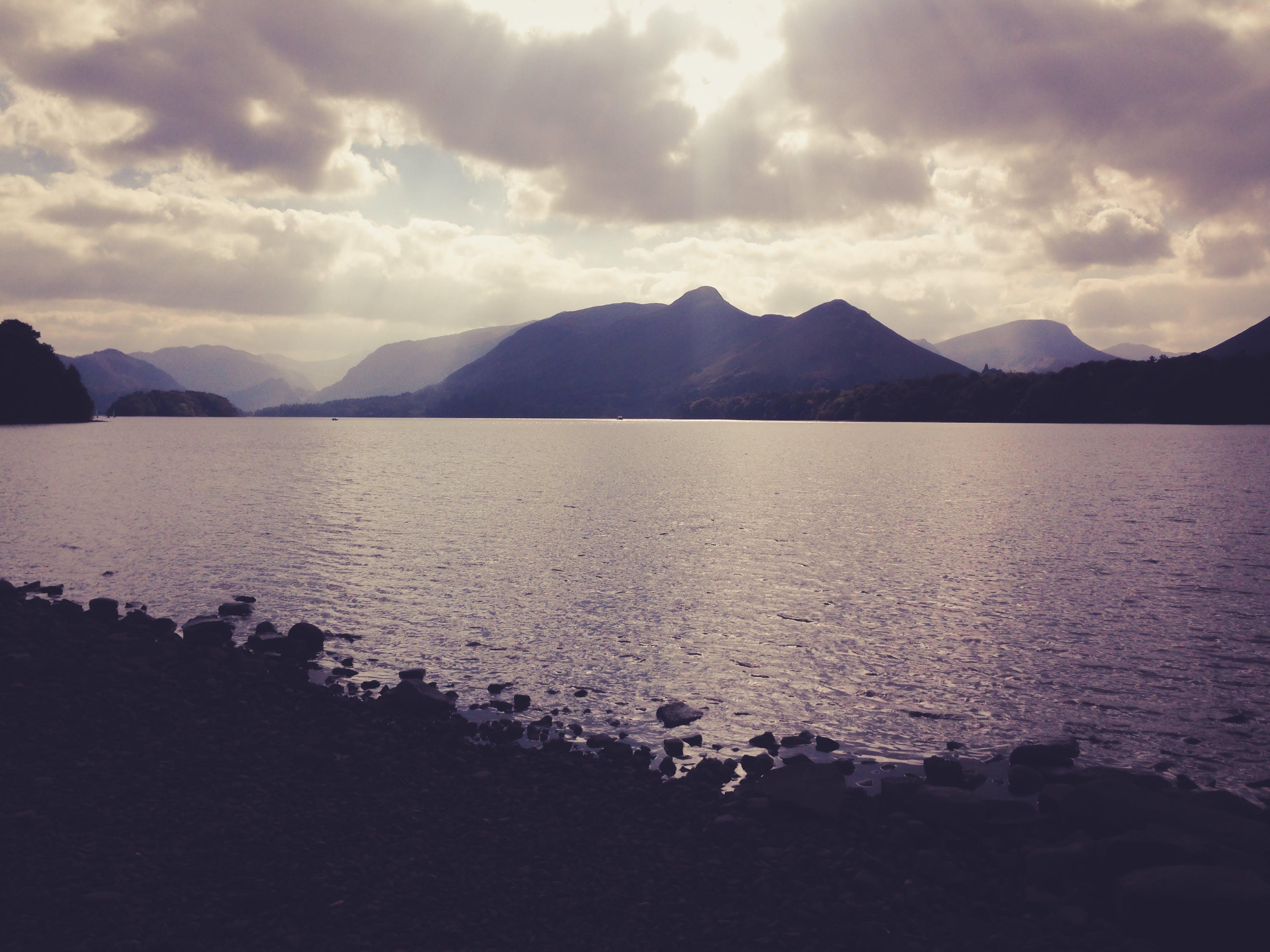 Free stock photo of nature, sunset, lake, peace
