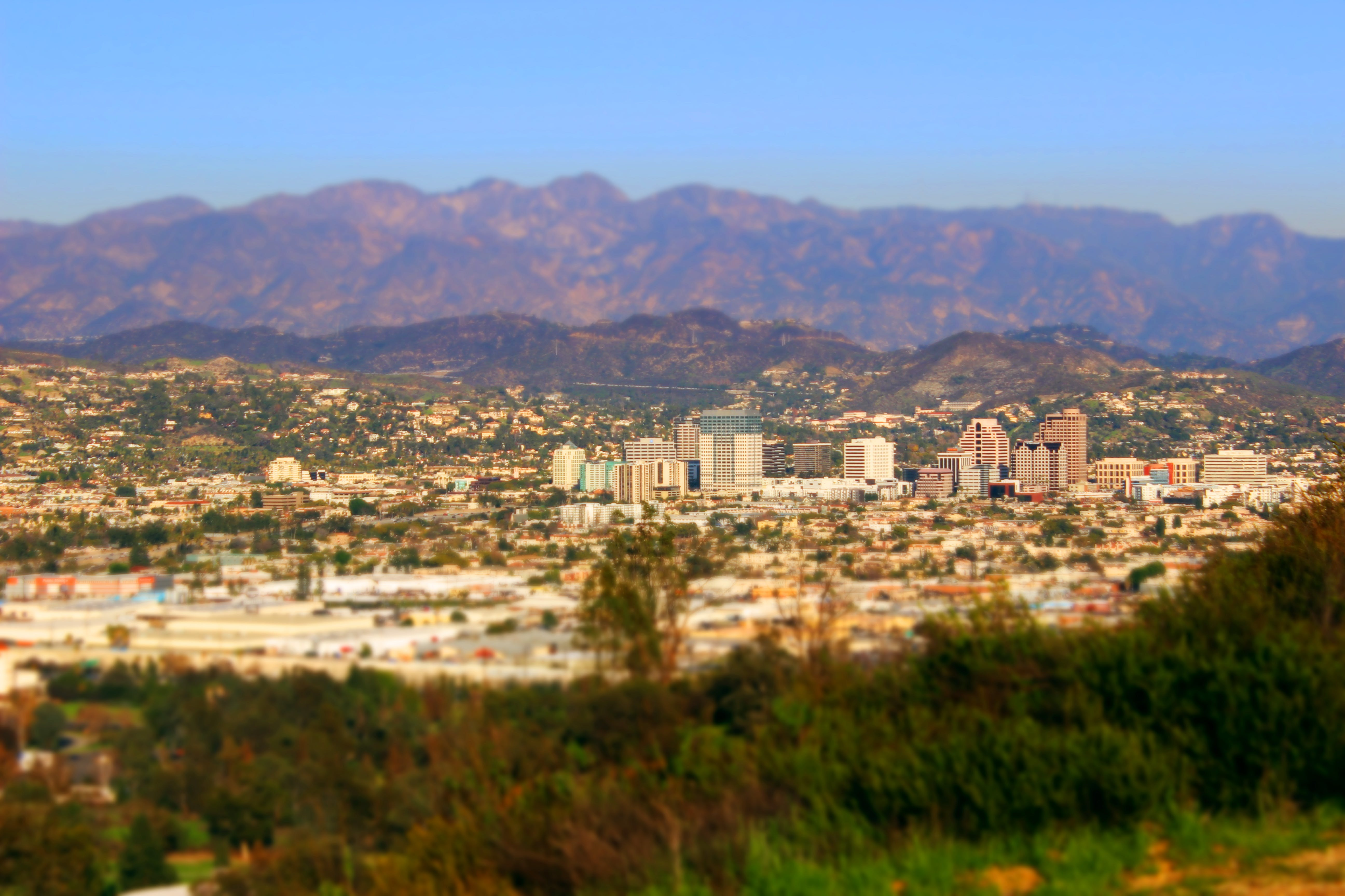 Free stock photo of buildings, Burbank, city, valley