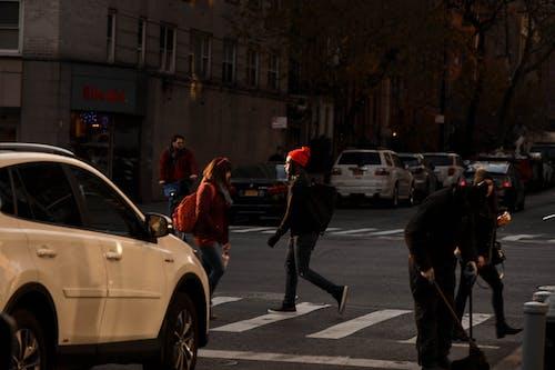 คลังภาพถ่ายฟรี ของ ฉากในเมือง, ชีวิตในเมือง, ทางข้าม, ผู้คน