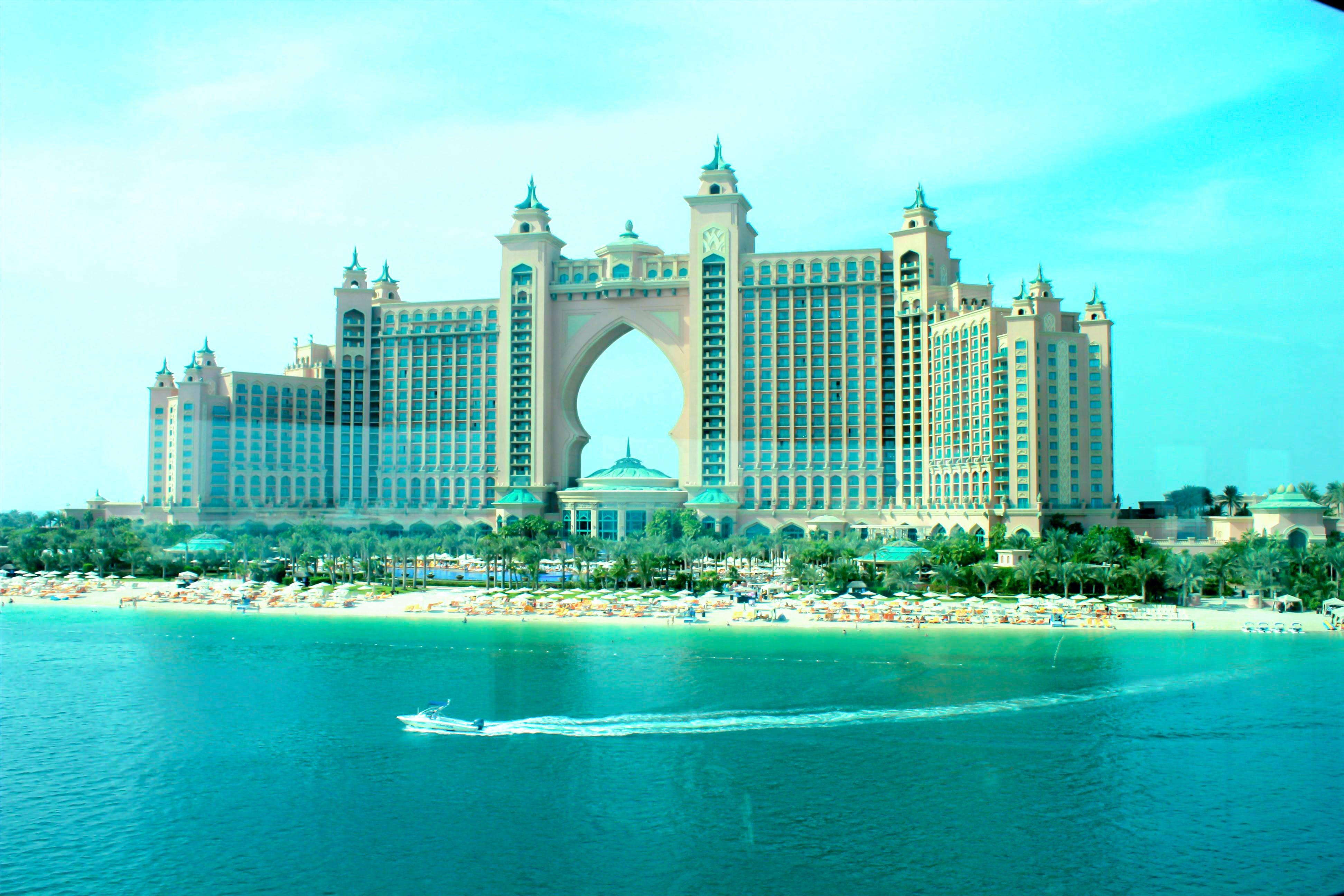Gratis arkivbilde med de forente arabiske emirater, dubai, hoteller, sjø