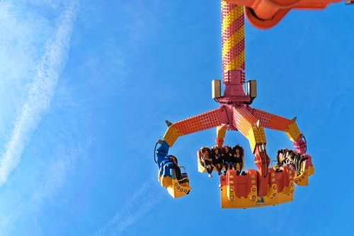 Kostenloses Stock Foto zu action, bewegung, blauer himmel, draußen
