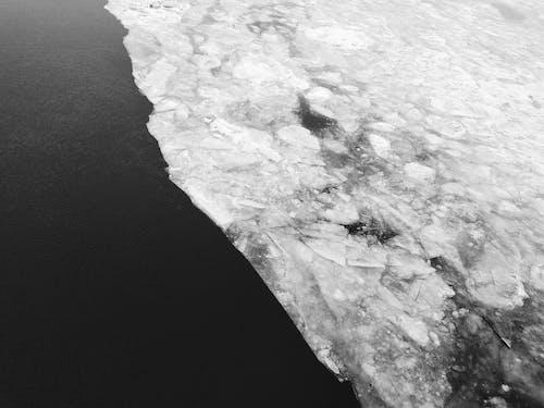 Immagine gratuita di fiume ghiacciato, ghiacciaio, superficie del ghiaccio