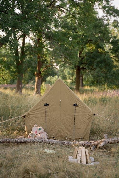 Brown Camping Tent