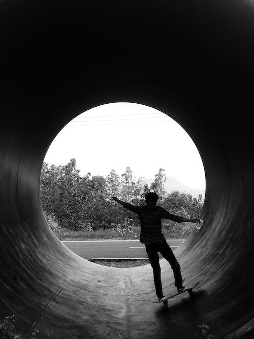Gratis stockfoto met achtergrondlicht, actie, backlit