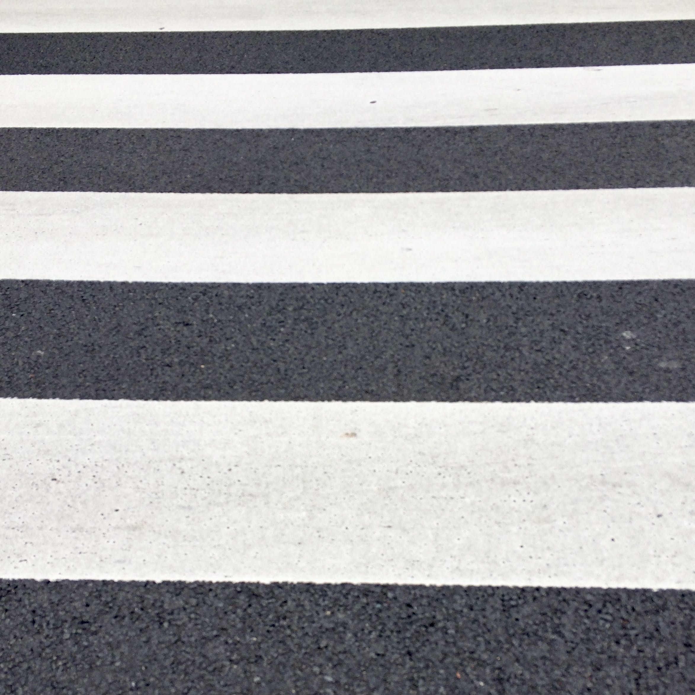 White and Gray Pedestrian Line