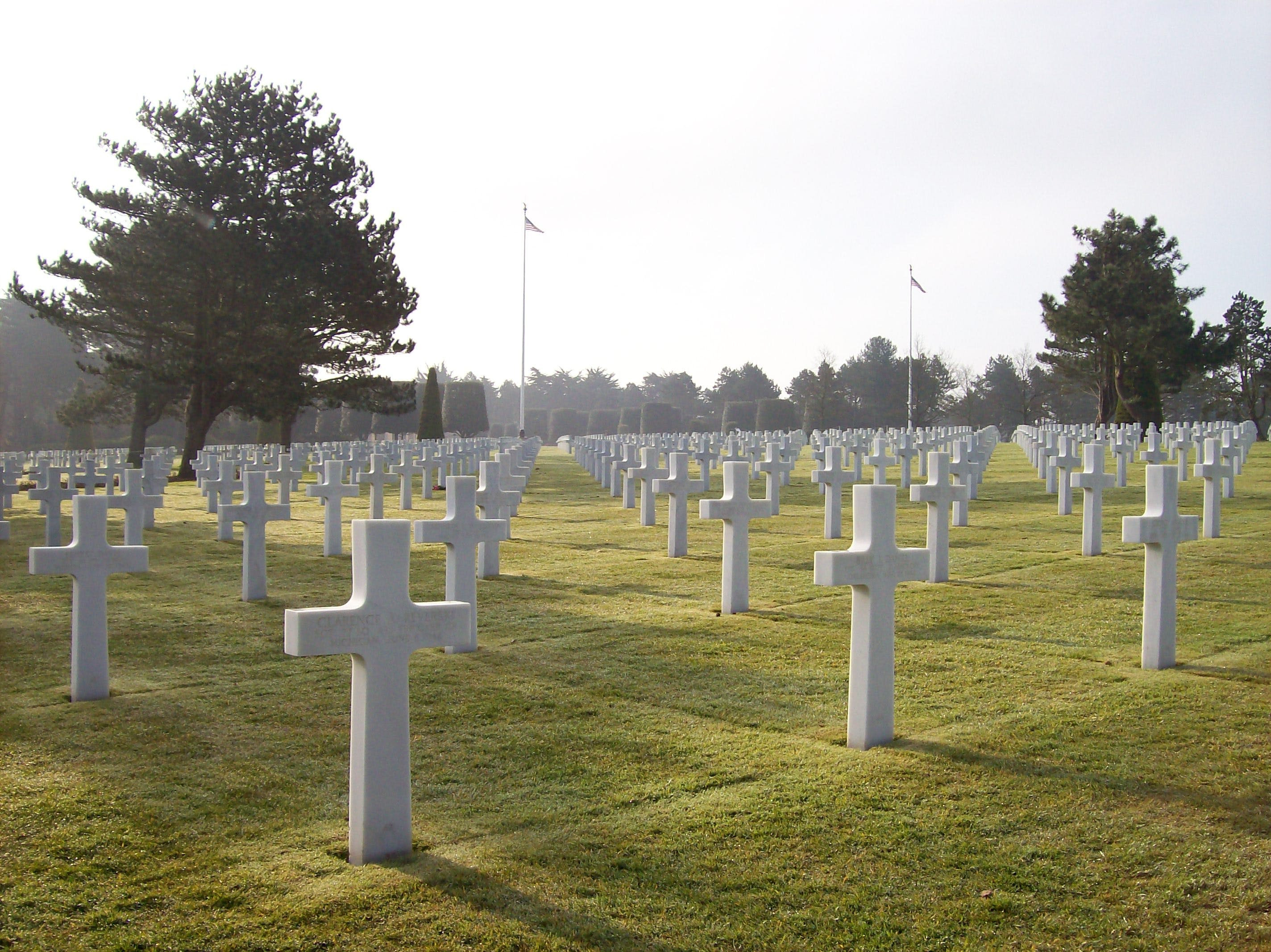 D-day Cemetery