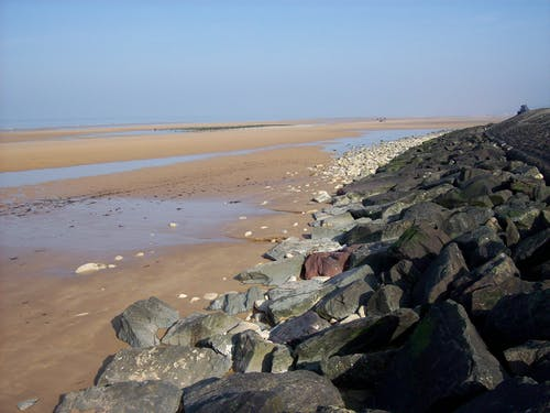 奧馬哈海灘, 諾曼底 的 免費圖庫相片