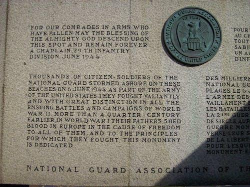 國家衛隊紀念館, 奧馬哈海灘, 諾曼底 的 免費圖庫相片