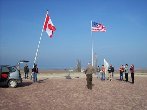 奧馬哈海灘, 奧馬哈海灘紀念館, 諾曼底 的 免費圖庫相片
