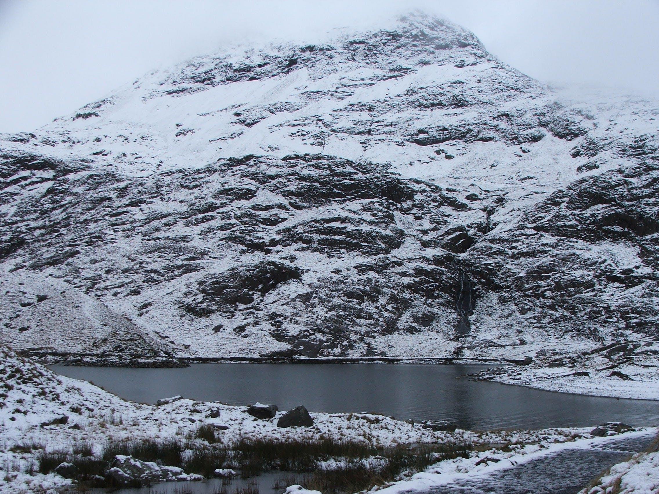 Free stock photo of mountain, snow, snowdonia, winter