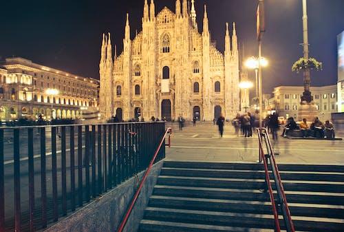 Immagine gratuita di antico, architettura, cattedrale, cattedrale di milano