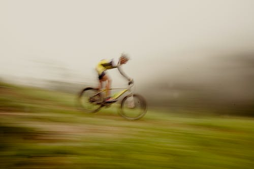 Free stock photo of contest, downhill, freeride, high speed