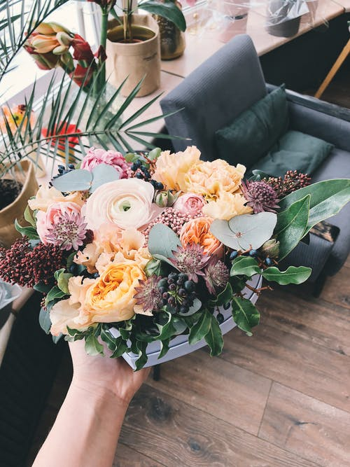 Assorted-color Flower Bouquet
