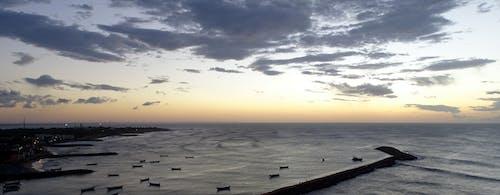 之前, 天空, 日出, 海滩 的 免费素材照片