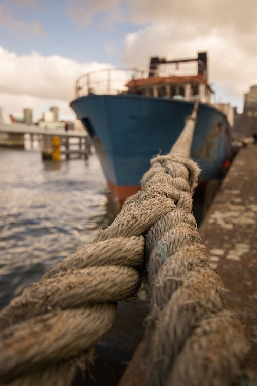 Gratis stockfoto met boot, dok, haven, knoop
