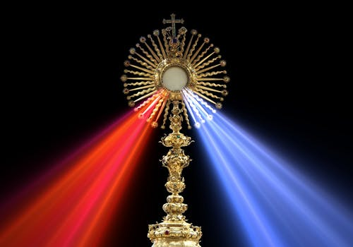 Free stock photo of divine mercy, eucharist, faustina kowalska