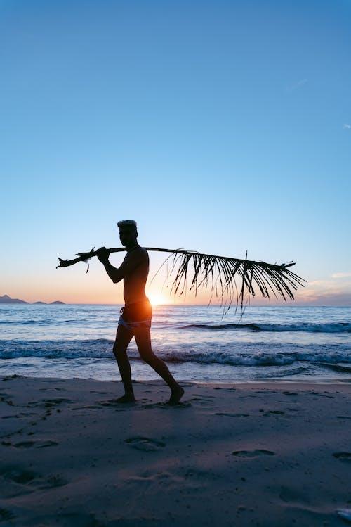 Безкоштовне стокове фото на тему «fotografia, homem, praia»