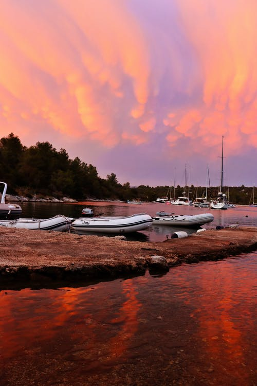 天空, 日落, 日落背景 的 免费素材图片