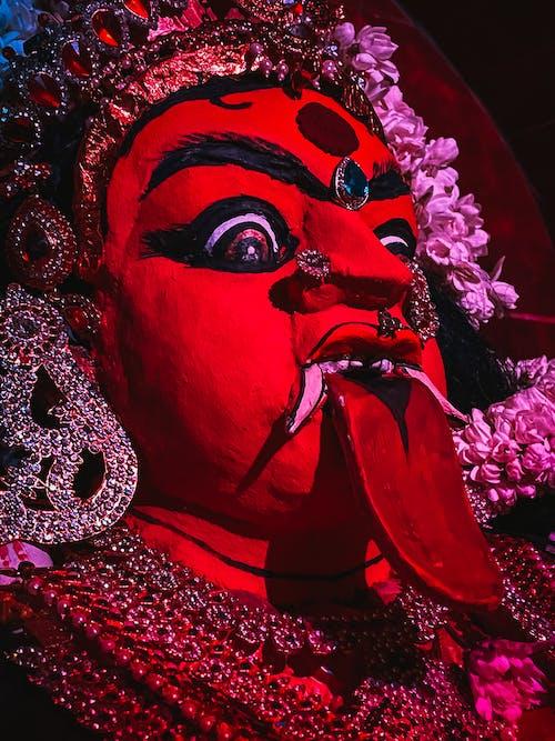 Free stock photo of chandi, goddess, goddess kali