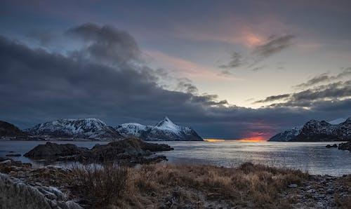 Darmowe zdjęcie z galerii z dramatyczny, fiord, góra